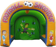 Football Shootout Inflatable Arch